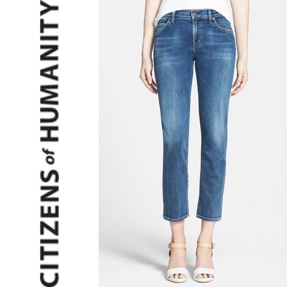 CITIZENS OF HUMANITY Phoebe Slim Straight Crop